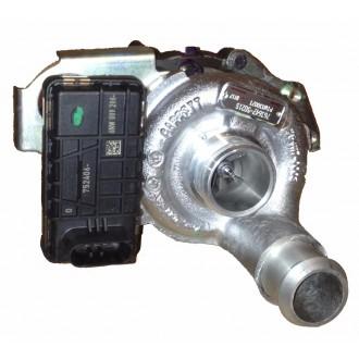 Turbodmychadlo Ford Mondeo III 1.8 TDCi 66kW QYBA