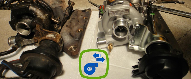 Většinu turbodmychadel máme již po repase skladem