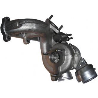 Turbodmychadlo Volkswagen Sharan I 1.9 TDI 74 kW AXR/BSW/BEW