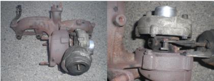 Turbo určené opravě